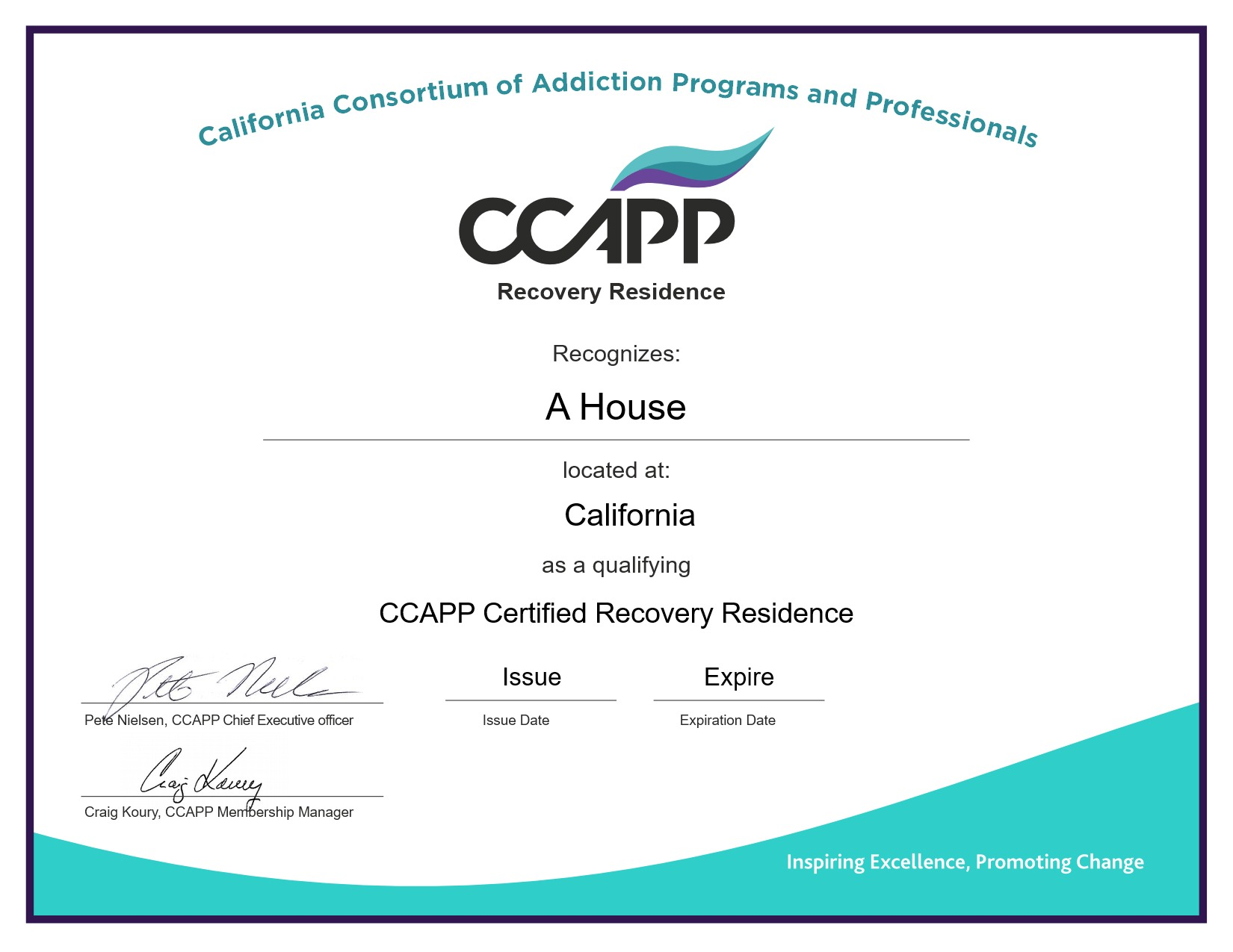 Starting A Recovery Residence Ccapp Recovery Residences